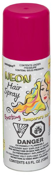 Neon Pink Hair Spray